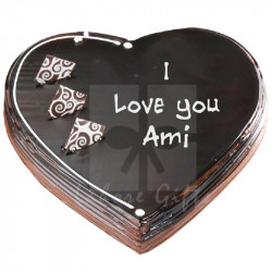 2Lbs Heart Cake for Ami