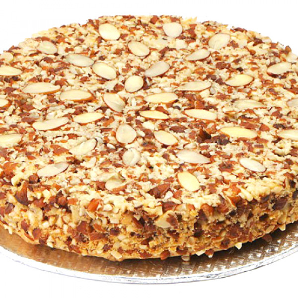 2lbs Almond Dry Cake from Baba Bakers