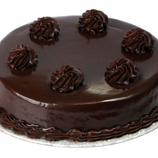 2lbs Special Chocolate Fudge Cake from Baba Bakers