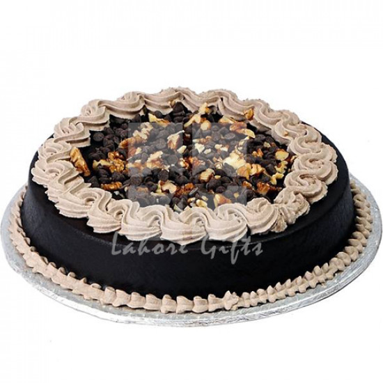 2lbs Walnut Chocolate Cake from Baba Bakers