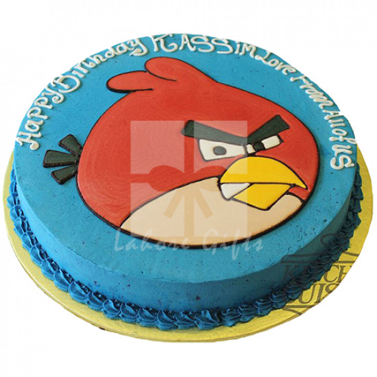 4Lbs Angry Birds Cake from Kitchen Cuisine