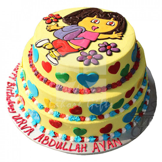 6Lbs Dora Cake Cake from Kitchen Cuisine