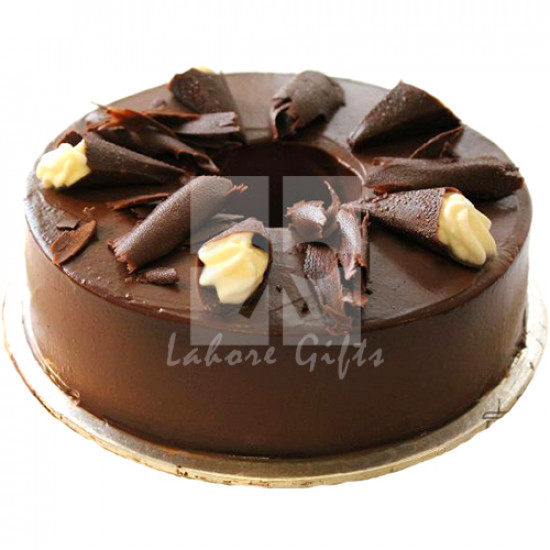 2lbs Dark Chocolate Cake from Kitchen Cuisine
