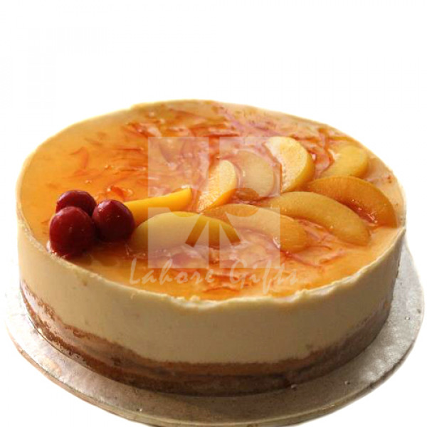 2lbs Orange Peach Mousse from Kitchen Cuisine