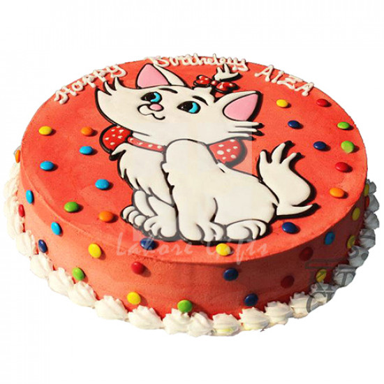 5lbs Kitty Cake from Kitchen Cuisine