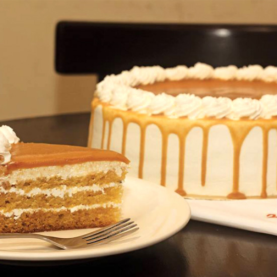 3.5lbs Butter Scotch Cake from Masoom Bakers