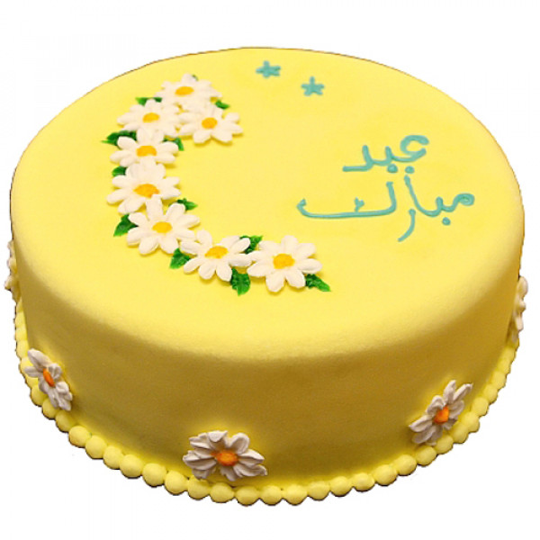 2lbs Yellow Eid Cake by Redolence