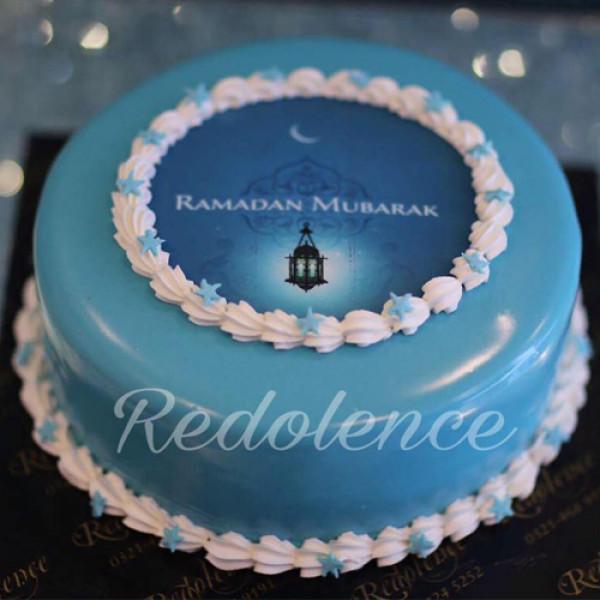 3lbs Ramadan Mubarak Cake from Redolence Bake Studio