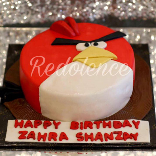 3lbs Angry Bird Cake from Redolence Bake Studio