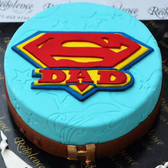 3lbs Super Dad Cake by Redolence