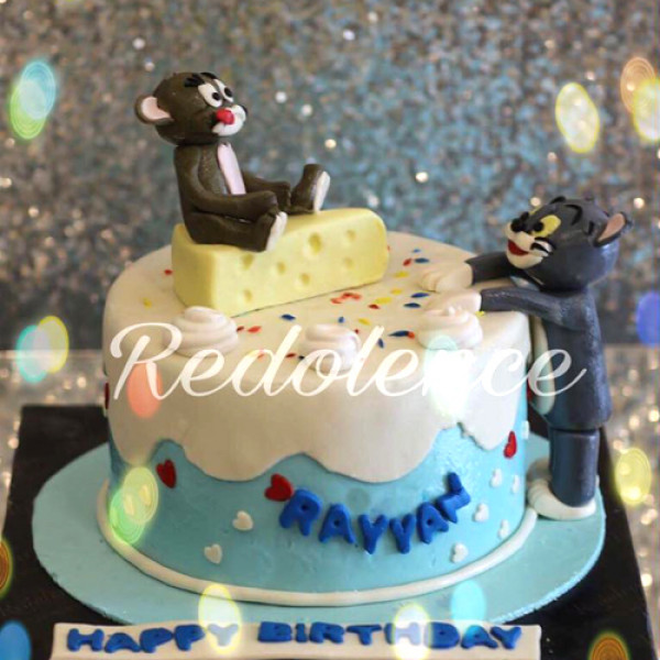 3lbs Tom and Jerry Cake from Redolence Bake Studio