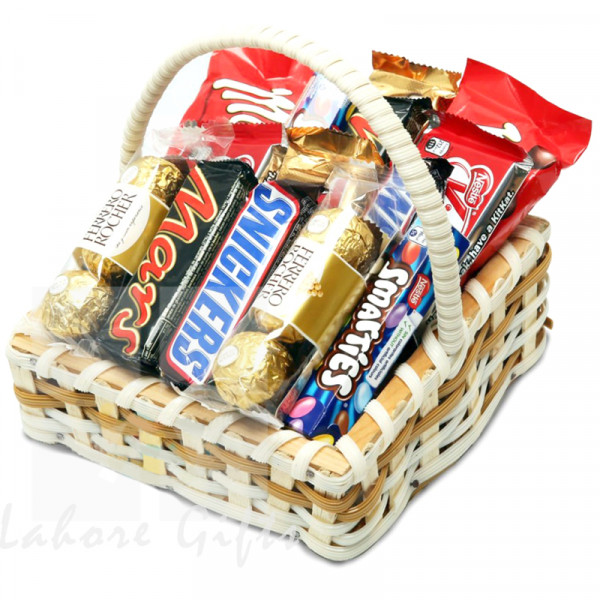 Sweet Treat Chocolate Basket