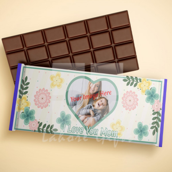 I Love You Mom Image Chocolate Bar
