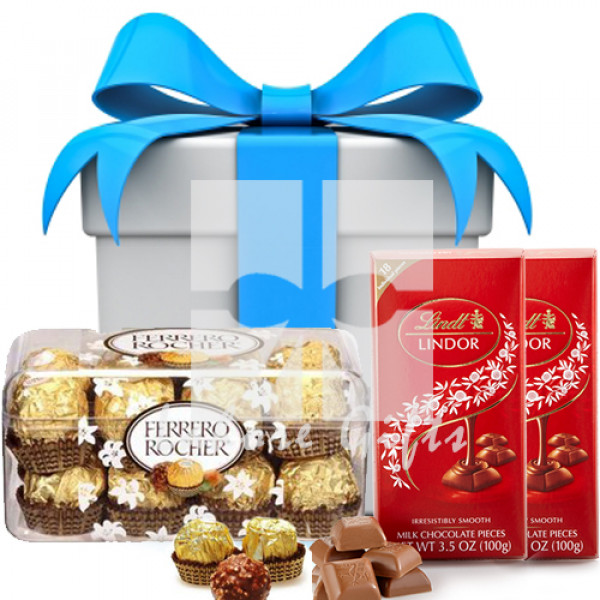 Lindt Lindor with Ferrero Rocher