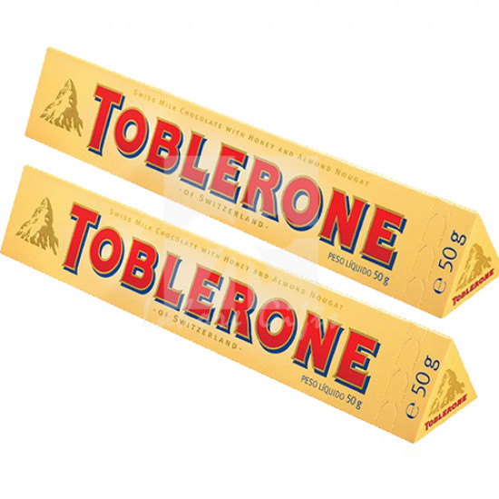 12 Toblerone Swiss Chocolate Bars