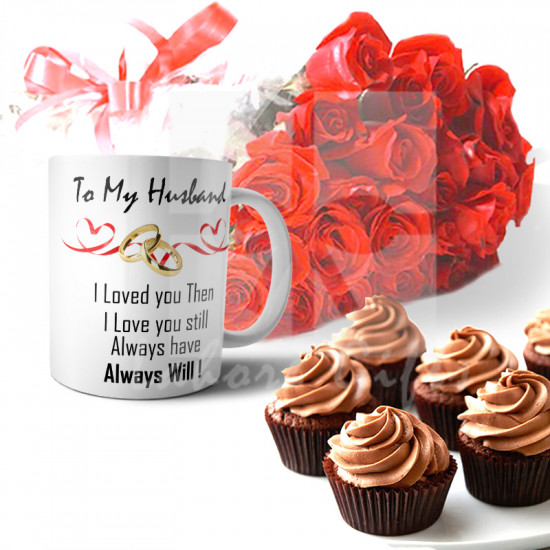 Anniversary  Cupcake Combo for Husband