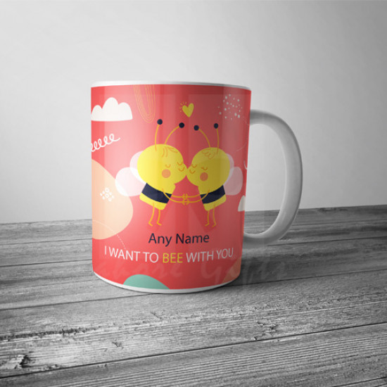Bee with you Mug