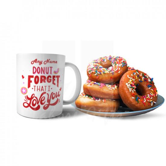 Donut and Mug Love Combo