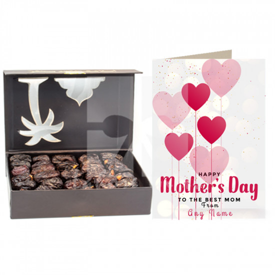 Mothers Day Card with Ajwa Dates