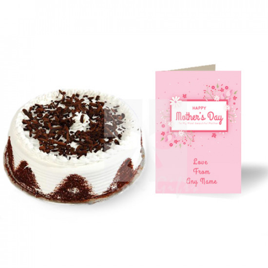 Mothers Day Card with Cake