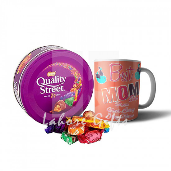 Quality Street Chocolates with Best Mom Mug