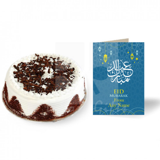 Eid Card with Cake