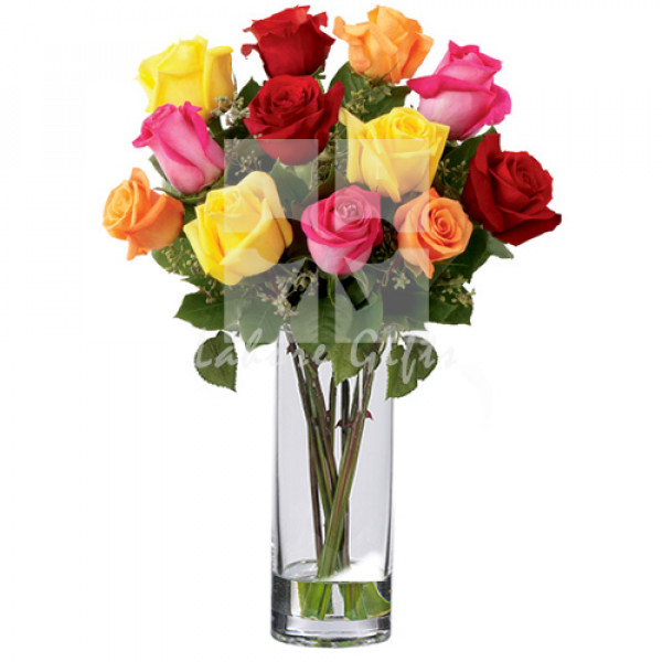 Mix Imported Roses Bouquet