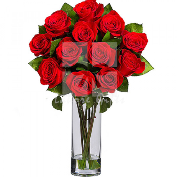 Imported Red Roses Bouquet