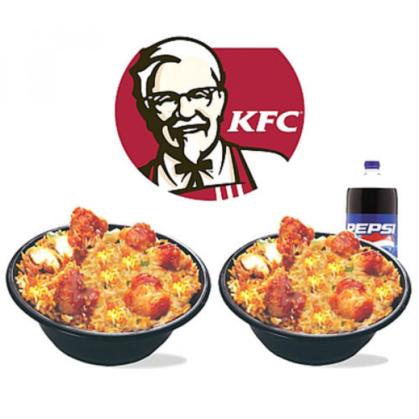 KFC Rice n Spice for two Persons