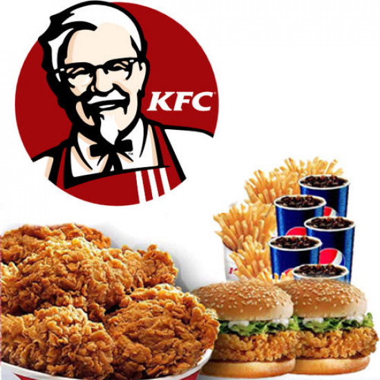 KFC Zinger Burger Family Meal Deal