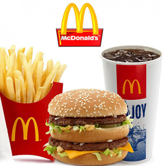 McDonald's Meal Deal Offer for 3 Persons
