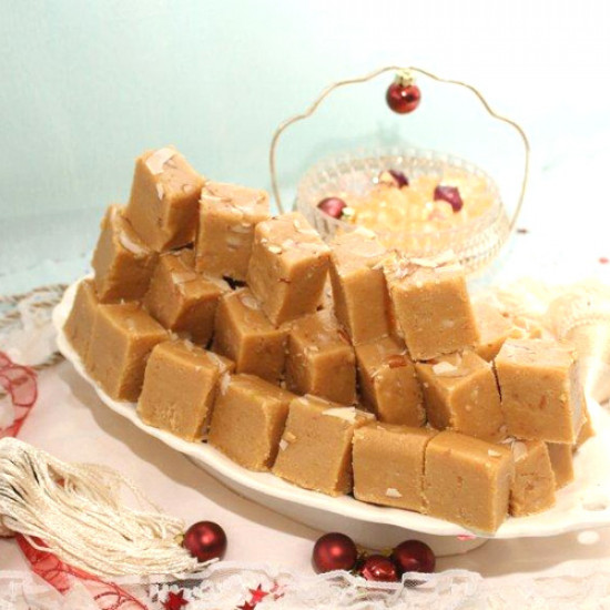 2Kg Almond Barfi from Bread Beyond