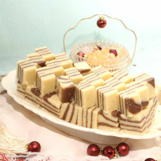 2Kg Chocolate Barfi from Bready Beyond