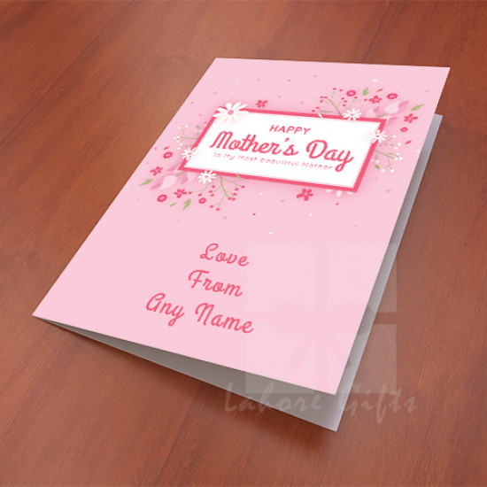 Personalised Card for Beautiful Mother