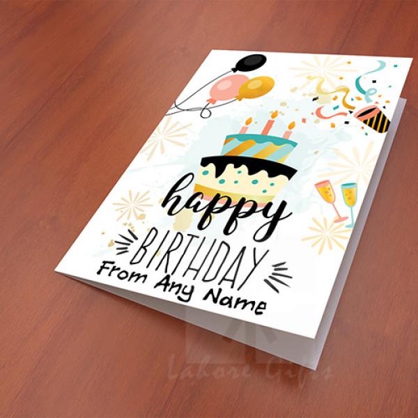 Happy Birthday Party Card
