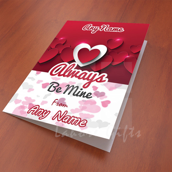 Always Be Mine Card