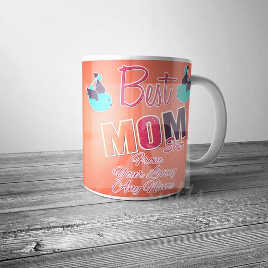 Best Mom Ever Personalised Mug