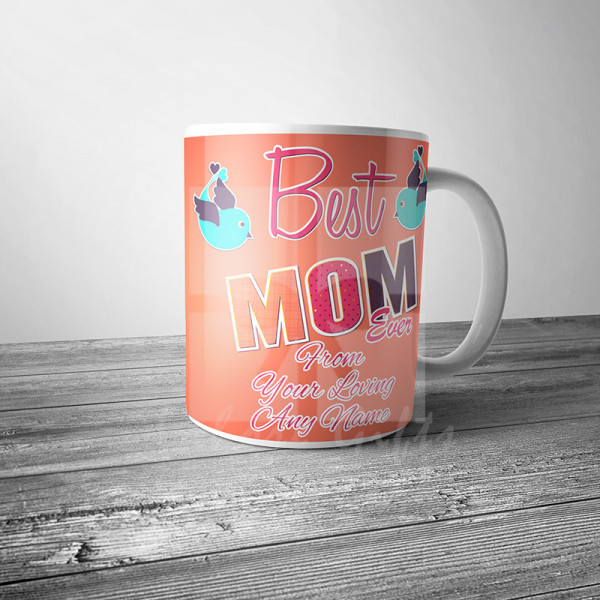 Best Mom Ever Personalised Mug
