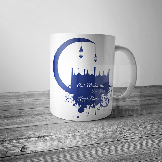 Eid Greetings Personalised Mug
