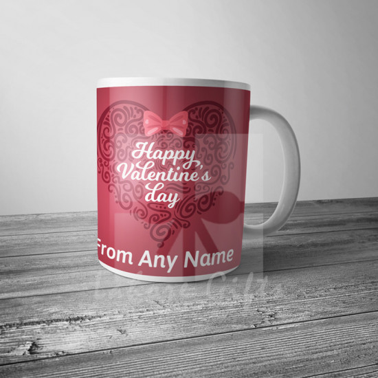 Heart Art Valentine Mug