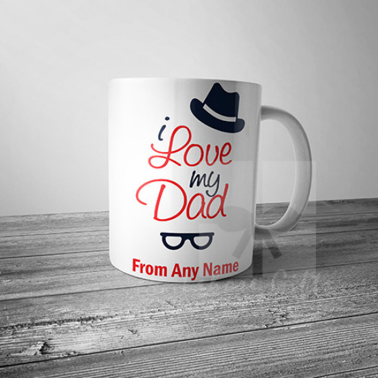 I Love My Dad Mug