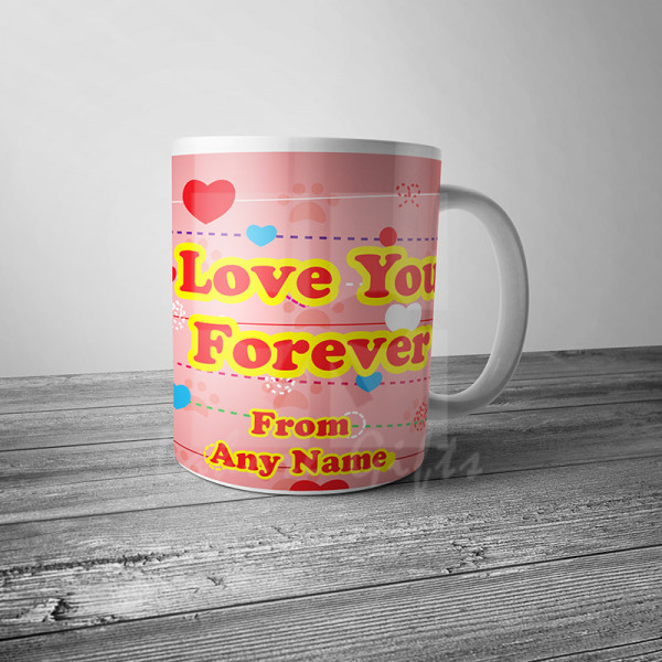 Personalised Love You Forever Mug