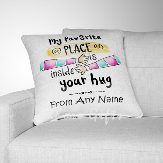My Favourite Place Cushion