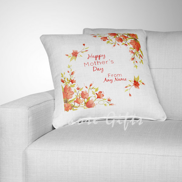 Vintage Floral Cushion for Mothers Day