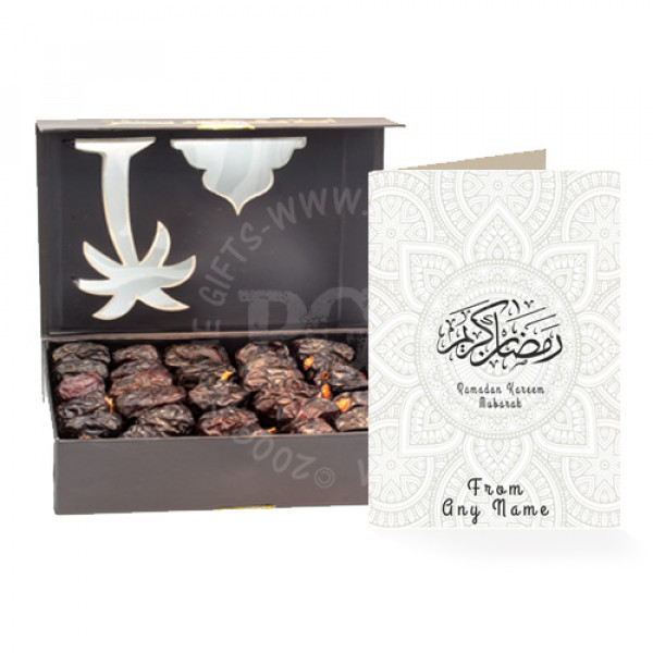 Ajwa Dates with Ramadan Card