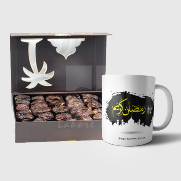 Ajwa Dates with Ramadan Mug